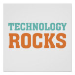 Technology Rocks Posters