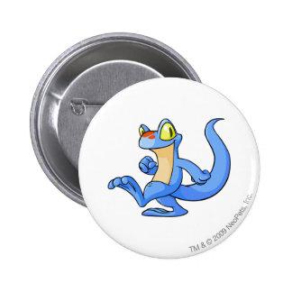 Techo Blue 6 Cm Round Badge