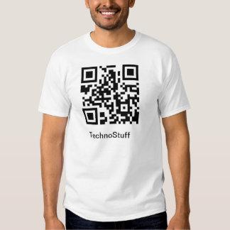 TechoStuff QR Code T-Shirt