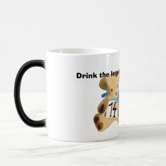 ted2 edit, Drink the legends drink Morphing Mug