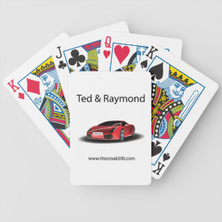 Ted and Raymond Cars Cards