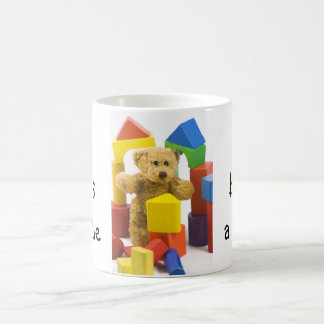 Ted builds a castle ... English tea mug