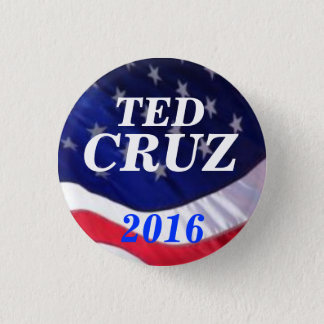 Ted Cruz 2016 3 Cm Round Badge