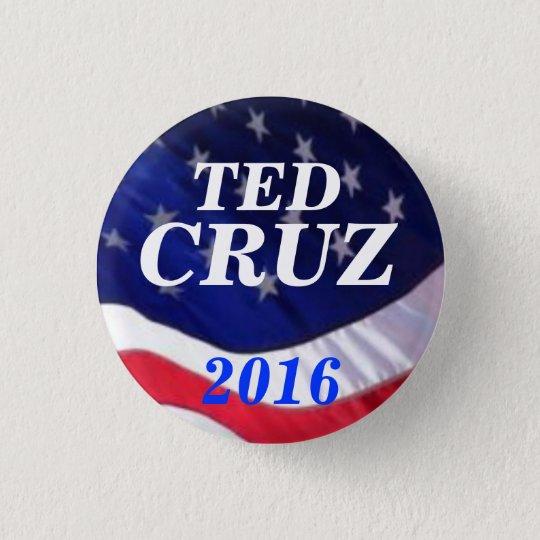 Ted Cruz 2016 3 Cm Round Badge