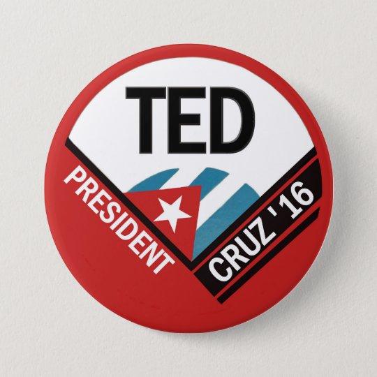 Ted Cruz 2016 7.5 Cm Round Badge