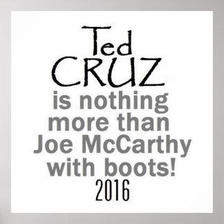 Ted Cruz 2016 Poster