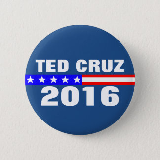 Ted Cruz 2016 Presidential Election Campaign 6 Cm Round Badge