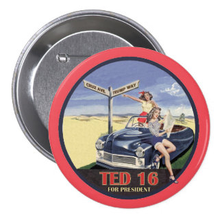 Ted Cruz for President 2016 7.5 Cm Round Badge