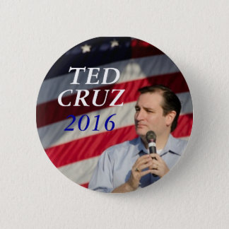 Ted Cruz for President 6 Cm Round Badge