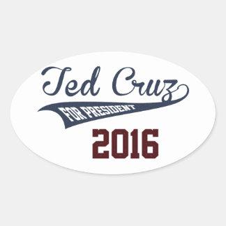 Ted Cruz For President Oval Sticker