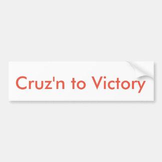 Ted Cruz for President Sticker Bumper Sticker
