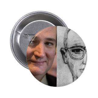 Ted Cruz is the Zodiac Killer 6 Cm Round Badge