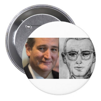 Ted Cruz is the Zodiac Killer 7.5 Cm Round Badge
