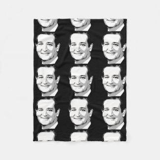 TED CRUZ PORTRAIT FLEECE BLANKET