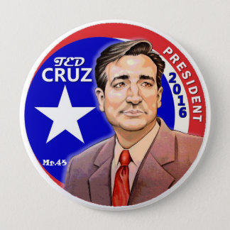 Ted Cruz President 2016 10 Cm Round Badge