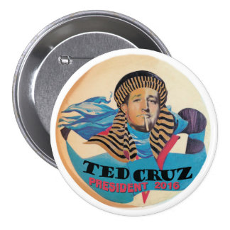 Ted Cruz President 2016 7.5 Cm Round Badge