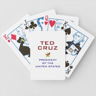 Ted Cruz President USA V2 Bicycle Playing Cards