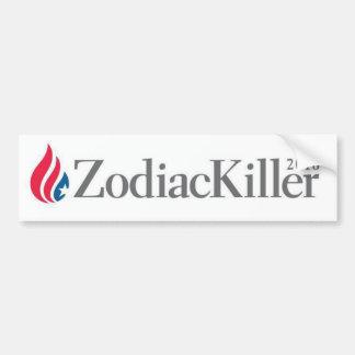Ted Cruz Zodiac Killer 2016 bumper sticker