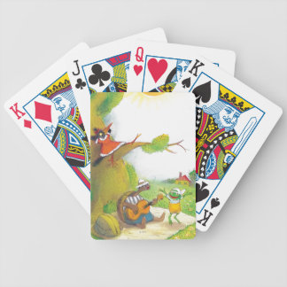 Ted, Ed and Caroll The Picnic 1 Bicycle Playing Cards