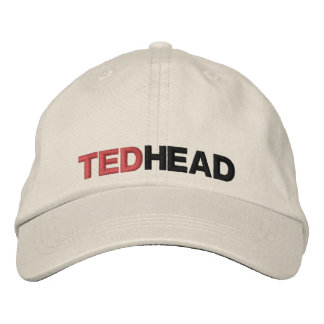 TED HEAD EMBROIDERED CAP