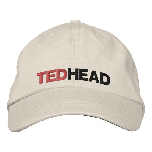 TED HEAD EMBROIDERED BASEBALL CAPS