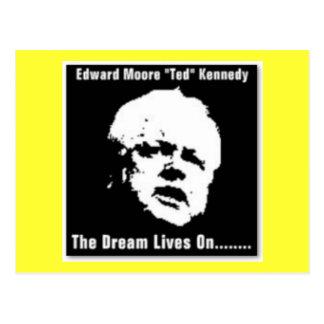 Ted Kennedy Postcard