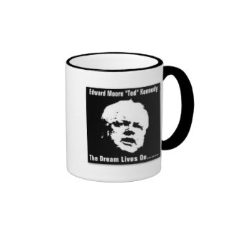 Ted Kennedy Ringer Coffee Mug
