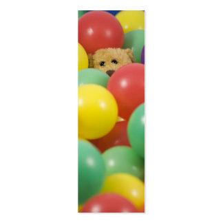 Ted overwhelmed in the ball pool again! - Bookmark Business Cards