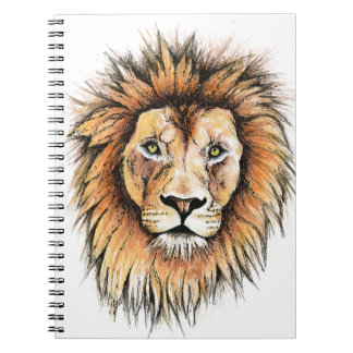 Ted the Lion Notepad Notebook