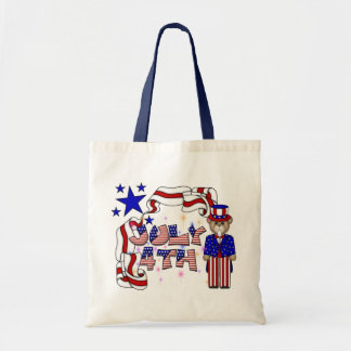Teddies 4th of July Canvas Bag