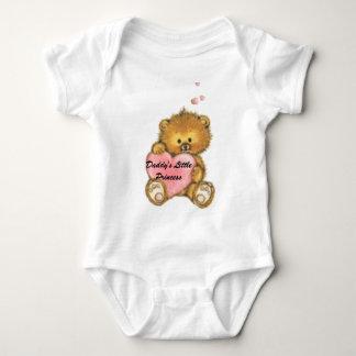 teddy32, Daddy's Little Princess Baby Bodysuit