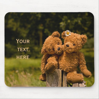 Teddy 01 mouse pad
