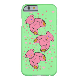 Teddy Apple iPhone Barely There iPhone 6 Case