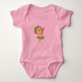 teddy baby bodysuit