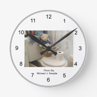 Teddy Bathroom Clock