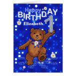 Teddy Bear 1st Birthday for Girl
