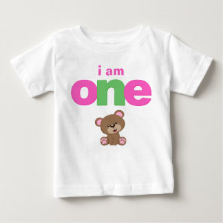 Teddy Bear 1st Birthday T-shirt Toddler Baby Kid