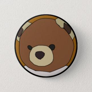 Teddy Bear 6 Cm Round Badge