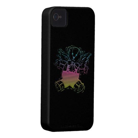 Teddy-Bear Angel iPhone 4 Case