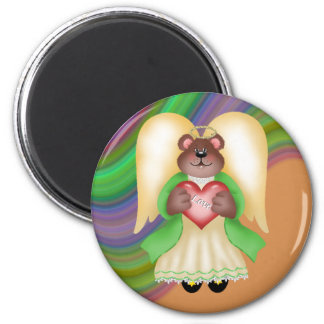 Teddy Bear Angel Love Magnets