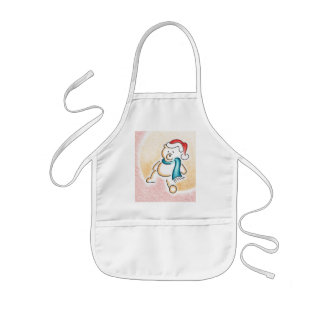 Teddy-bear apron
