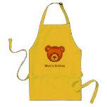 Teddy Bear Apron ~ Mum's Kitchen~Customise