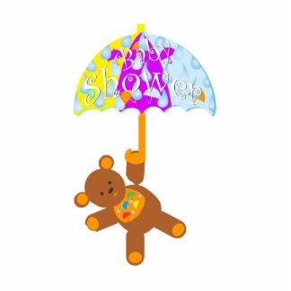 Teddy Bear Baby Shower Photo Cutouts