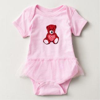 Teddy Bear Baby Tutu Bodysuit