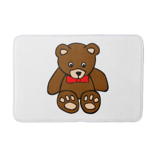 Teddy Bear Bath Mats
