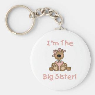 Teddy Bear Big Sister Key Ring