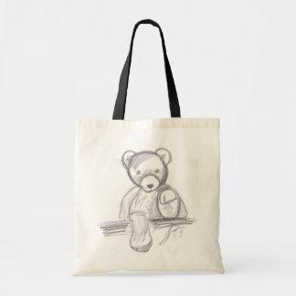 teddy bear book bag
