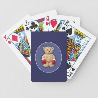 Teddy Bear Boxer Poker Deck