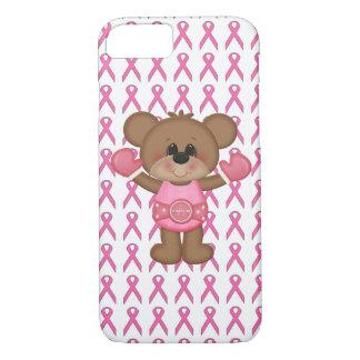 Teddy Bear Breast Cancer Awareness Phone Case