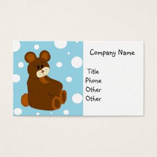 Teddy Bear Business Business Card